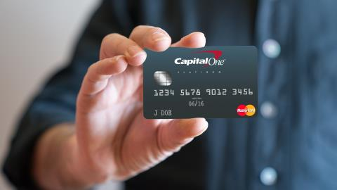 Capital One card Activation