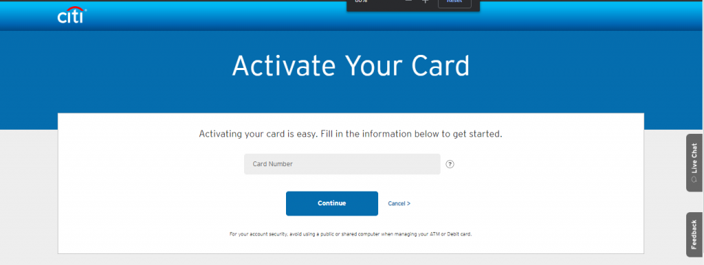 activate sears credit card