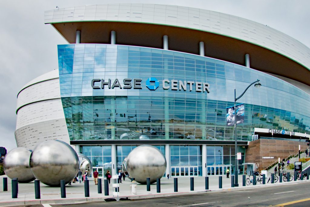 Chase Bank center