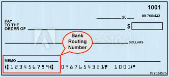 Chase bank routing number on check