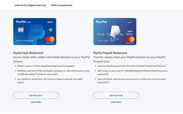 PayPal Debit Card Activation