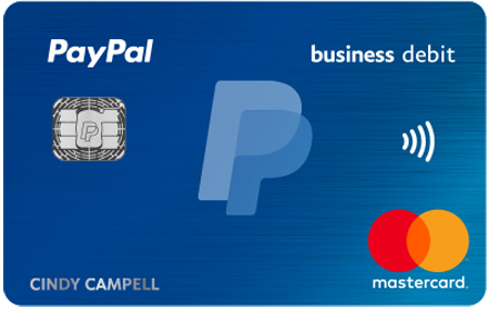 Paypal debit card activation