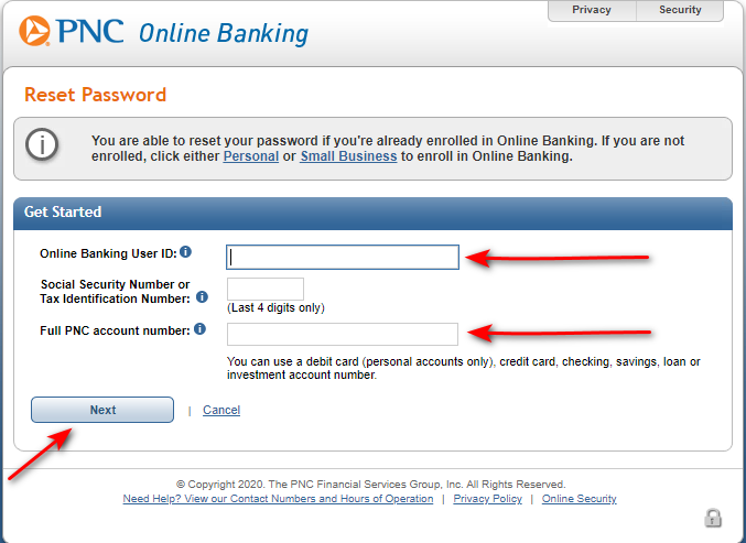 PNC Online Banking