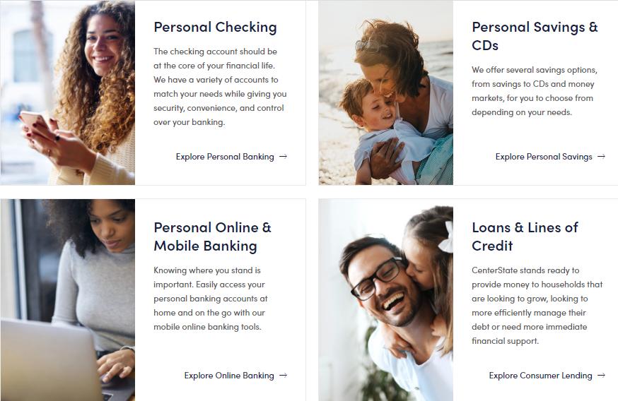 Center State Bank benefits