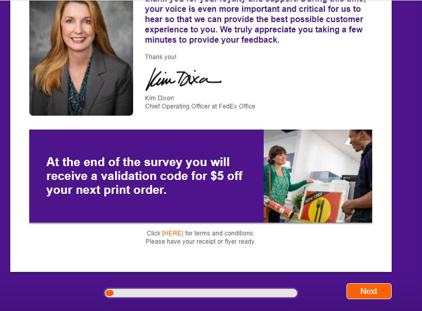 FedEx Customer Survey