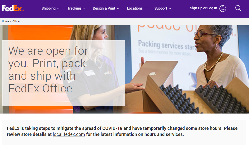 FedEx Customer Feedback Survey
