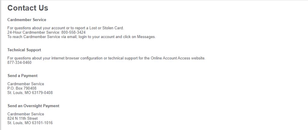Elan Credit card support