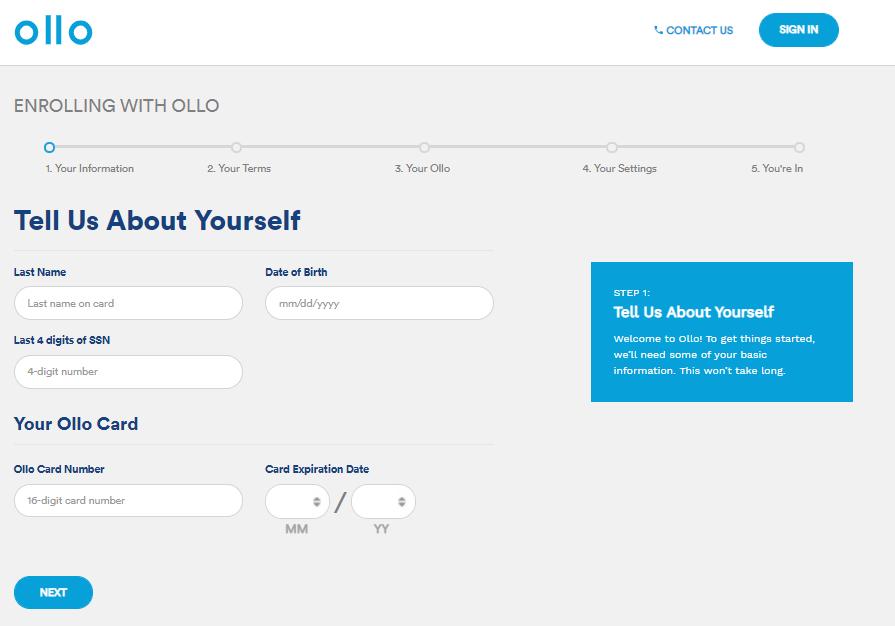 Ollo Card Login🔒  Ollo Credit Card Login   Ollo Support 👥 Ollo Payments