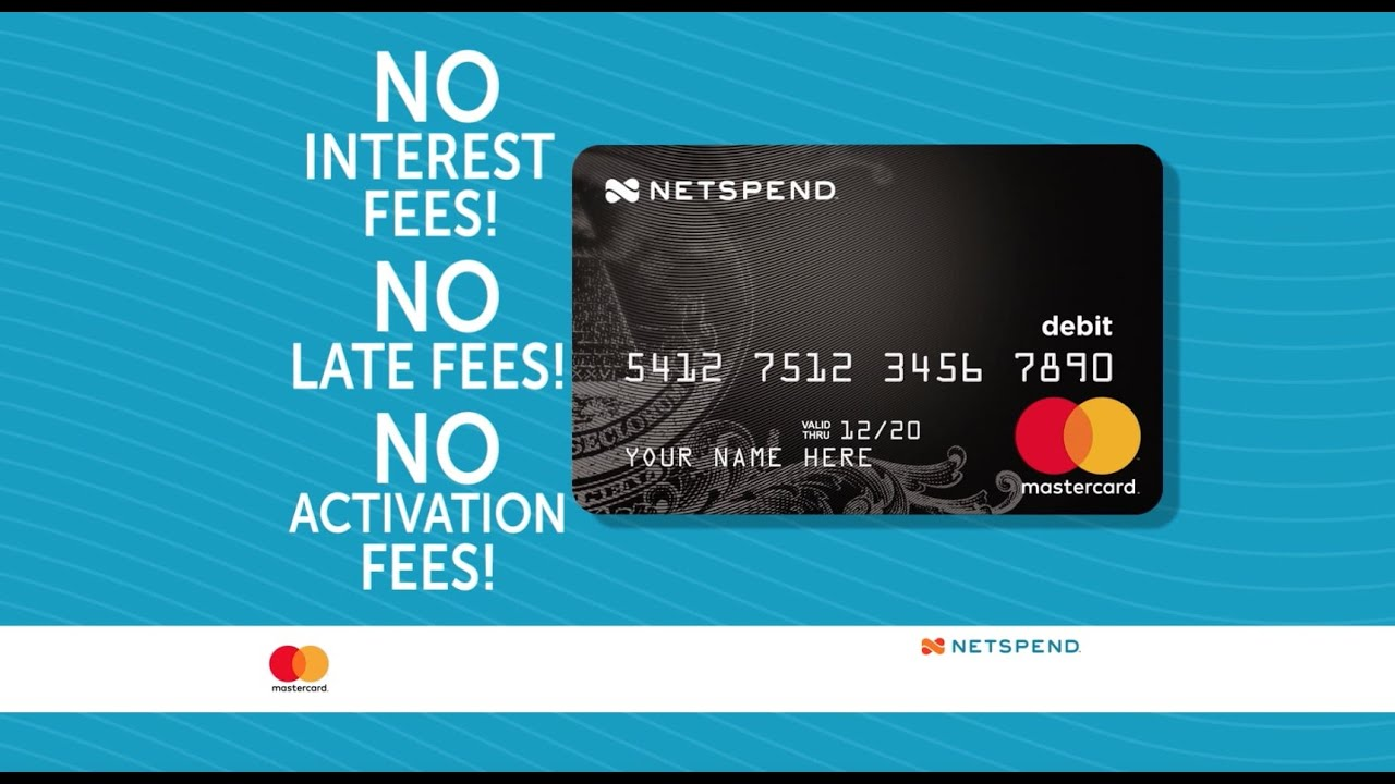Netspend all access credit card