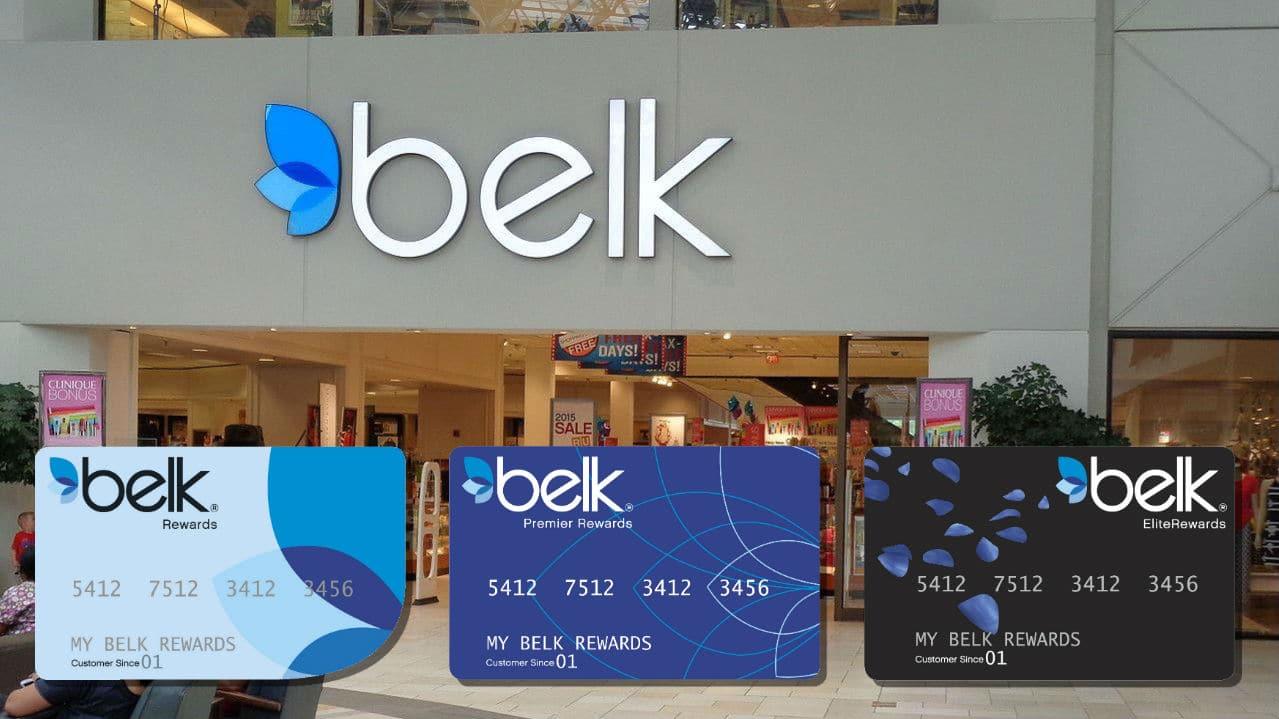 Belk credit cards